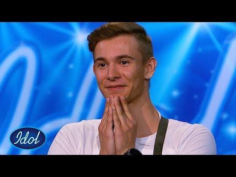 Svømmeinstruktøren Daniel imponerer stort med egenskrevet låt | Idol Norge 2018