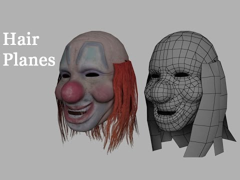 Game Assets - Hair Planes