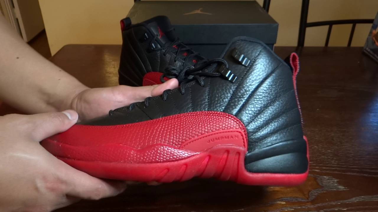 info for c4ffe 11389 2016 Air Jordan 12 Flu Game GS HD Review
