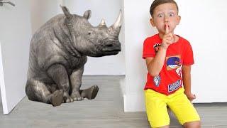 سينيا وحديقة الحيوانات السحرية. قصص للاطفال