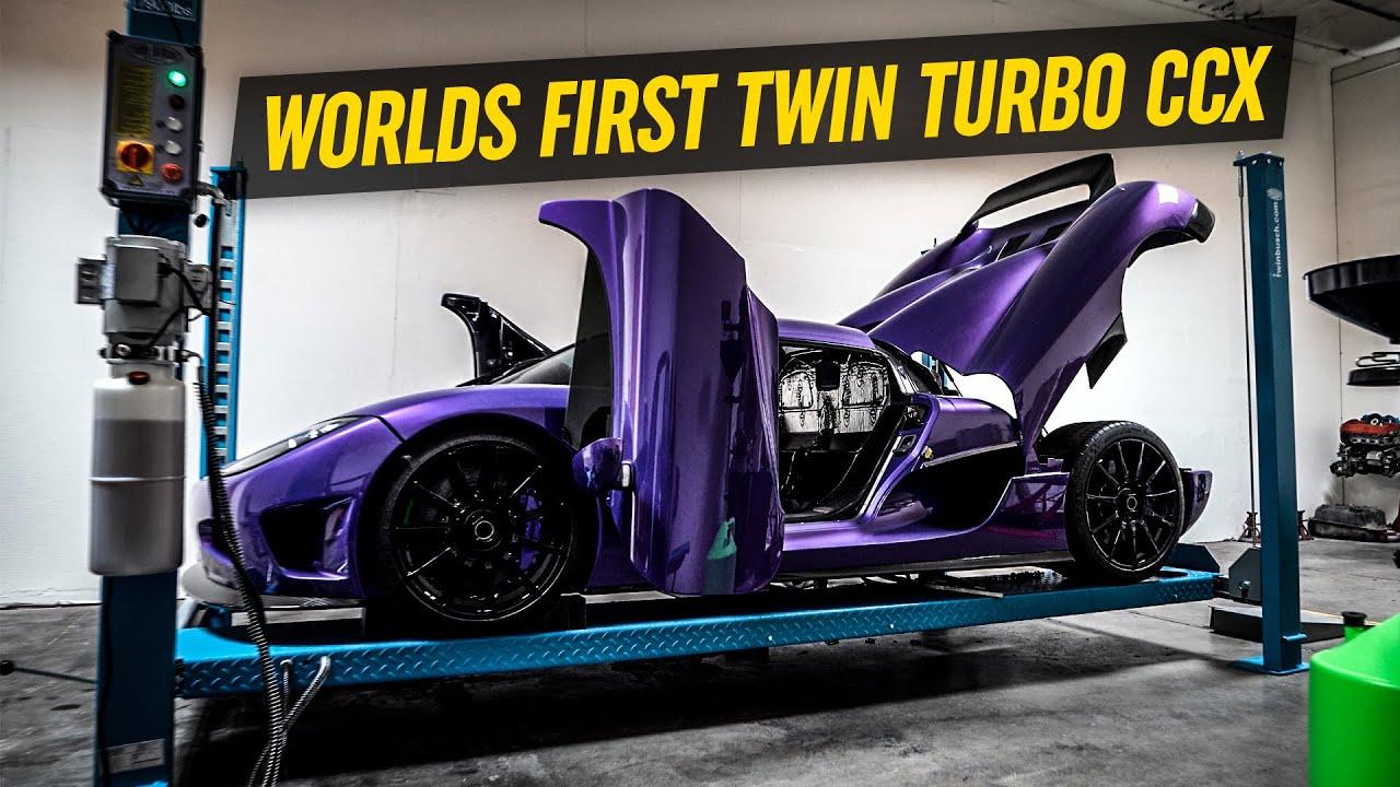 Twin Turbo Koenigsegg CCX *Worlds First*