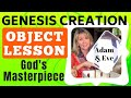 GENESIS CREATION Adam & Eve Story OBJECT LESSON for church, school & home WRIGHT IDEAS WITH SUSAN