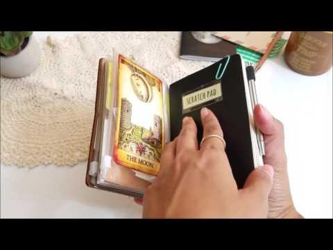 Quick Flip Through-Traveler's Notebook Passport Size