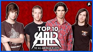 TOP 10 THE ALL-AMERICAN REJECTS SONGS chords | Guitaa.com