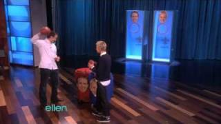 Ellen Throws a Football with Drew Brees