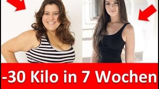 30 Kilo in 7 Wochen abnehmen ohne Sport