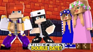 DOUBLE DATE WITH CARLY, KELLY & RAVEN!! Minecraft Custom Roleplay | w/LittleKelly Carly and Raven |