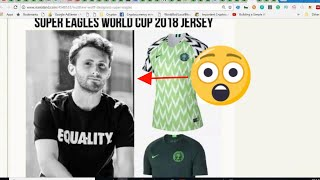 SEE THE LIONEL MESSI THAT DESIGNED NIGERIA'S JERSEYS