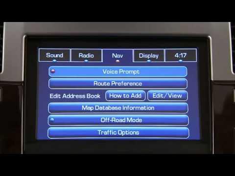 how to use the navigation radio cadillac escalade bommarito rh youtube com 2006 cadillac cts navigation system manual 2006 Cadillac CTS Navigation Stereo