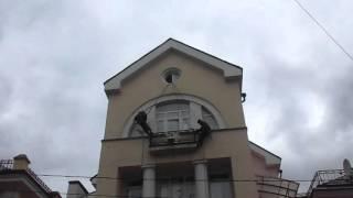 ПРОМТЕХАЛЬП - PROMTEHALP LLC - помывка фасада перед ремонтом в Москве(, 2015-09-28T19:41:33.000Z)