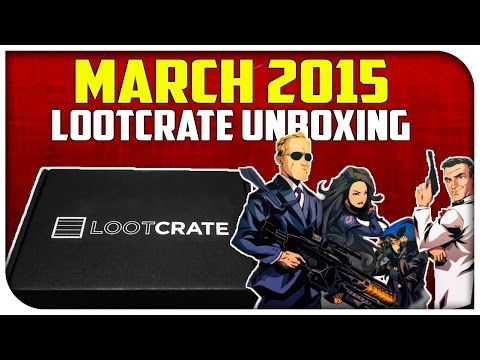 "Loot Crate Unboxing! - ""COVERT"" (Agents of Shield Item & More) [March 2015]"