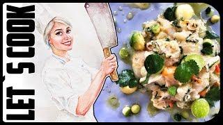 ✿ LET`S COOK ✿ Севиче из красного окуня / сырая рыба, как готовить правильно  ♥