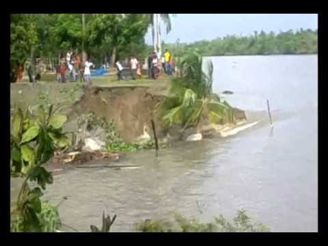 River Bank Erosion In Bangladesh 2014