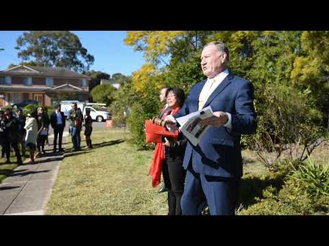 Auction At Toongabbie NSW For Agape Real Estate