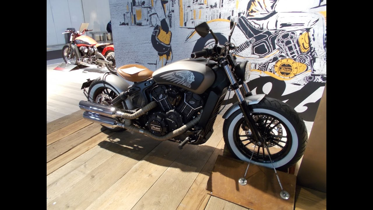 new indian scout sixty bobber youtube. Black Bedroom Furniture Sets. Home Design Ideas