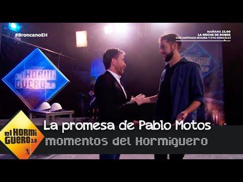 Pablo Motos afirma que le devolverá la visita a David Broncano - El Hormiguero 3.0