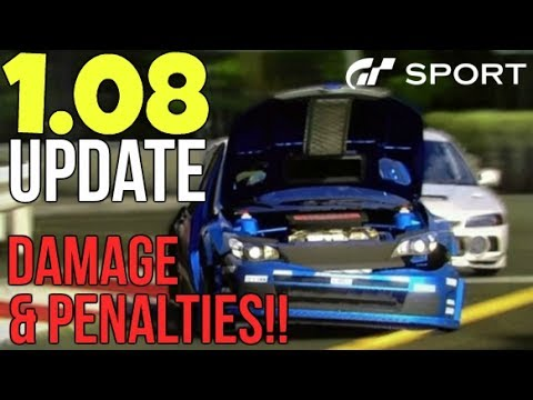 Gt Sport Ps4 Review Part 10 Updated Damage Penalties Youtube
