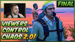It Took 36 Hours To Beat GTA 5 Chaos Controlled By My Viewers (Final)