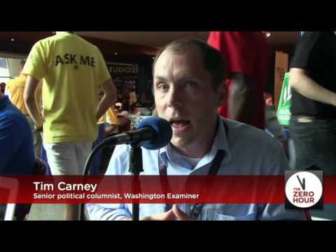 Tim Carney of the Washington Examiner, Live from the DNC
