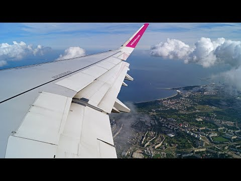 ==✈ Wizz Air | New Airbus A321 | Departure from Gdańsk ✈