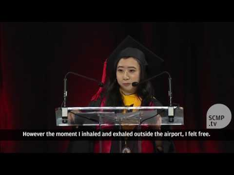 Chinese student who praised US fresh air and freedom apologises after backlash in China