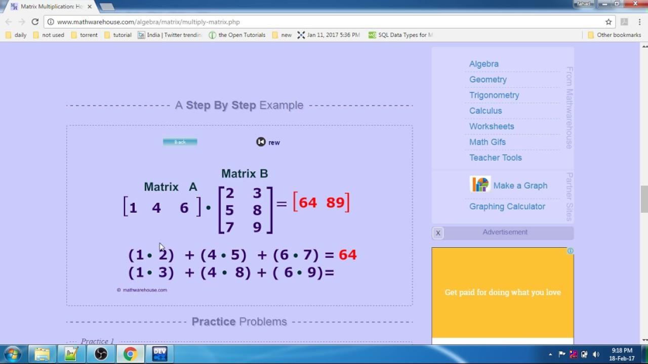Matrix Programm