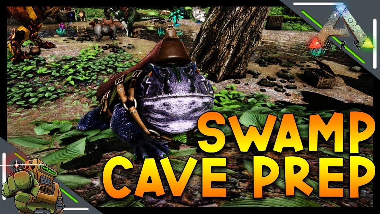 Beelzebufo Tame & Swamp Cave Prep | Ark: Survival Evolved | Season 1  Episode 64