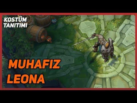 Defender Leona (Skin Preview) League of Legends