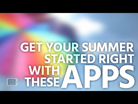 Best Android Apps for the Summer