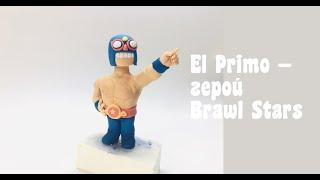 Фигурка из мастики на торт Brawl Stars El Primo герой Brawl Stars Танинторт