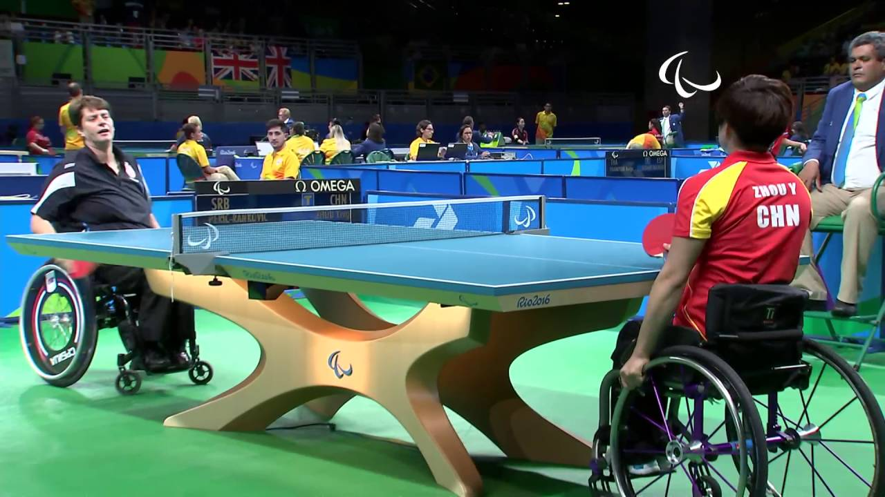 Day 3 evening | Table Tennis highlights | Rio 2016 Paralympic ...