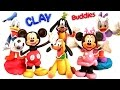 Clay Buddies Surprise Mickey Mouse Clubhouse - A Casa do Mickey com Margarida Pateta Pato Donald