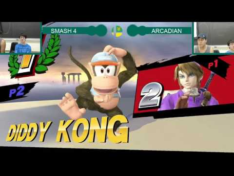 PG Arcadian Pools - Beta (Link, Mario) vs Bray (Diddy Kong)