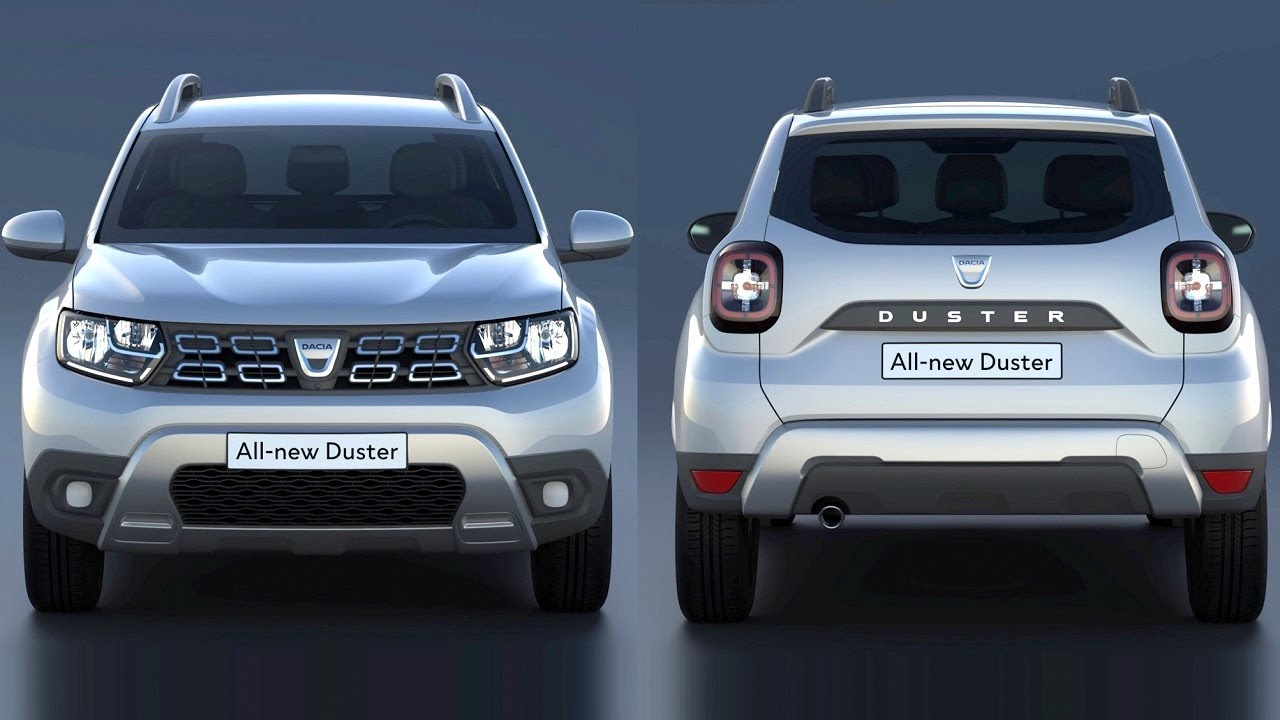 new dacia duster 2018 all design changes youtube. Black Bedroom Furniture Sets. Home Design Ideas