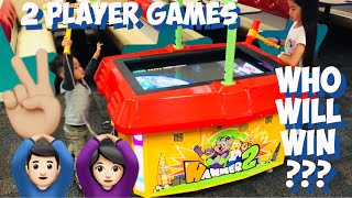 Fun Two Player Indoor Games and Activities in Chuck E Cheese