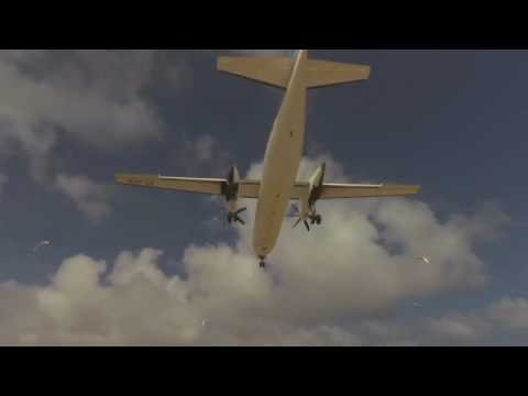 Mogadishu close encounter with airplane  1 [ Mirza Selimovic ]
