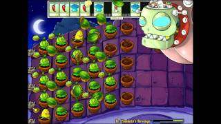 Gambar cover Let´s Play Plants vs. Zombies (Czech-HD-Part 34) - Pomsta Dr. Zombosse!