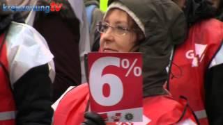 Bremer fordern mehr Lohn: Streik im öffentlichen Dienst