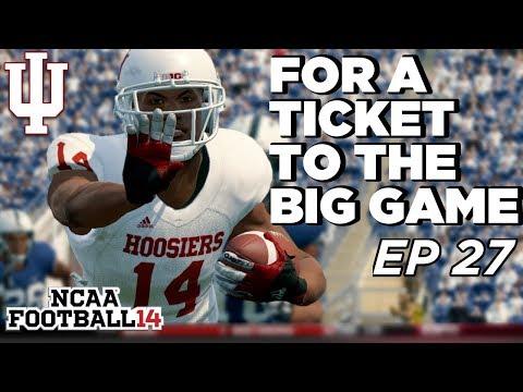 NCAA Football 14 Dynasty | Indiana Hoosiers - SAQUON VS CRAWFORD ALL AMERICAN SHOWDOWN - Ep 27