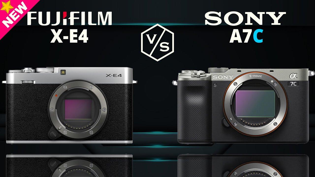 FujiFilm X-E4 vs SONY Alpha A7C
