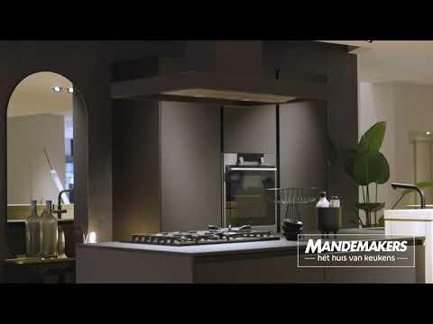 Mandemakers Keukens Sieve Ultra Mat Zwart Youtube