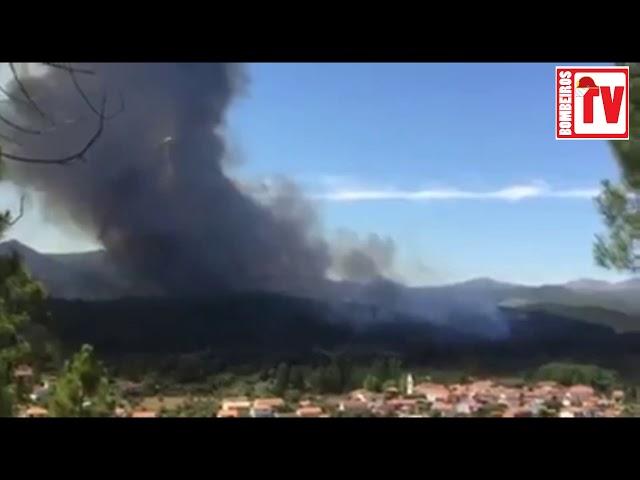 Incêndio em Pampilhosa Da Serra