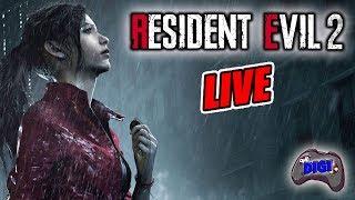 Resident Evil 2 Remake PS4 | Der zweite Run mit Claire #14 | Livestream 18+ German