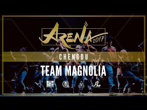 [1ST PLACE] TEAM MAGNOLIA   ARENA CHENGDU 2017 [@VIBRVNCY FRONT ROW 4K] #arenachengdu