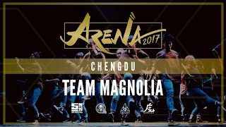[1ST PLACE] TEAM MAGNOLIA | ARENA CHENGDU 2017 [@VIBRVNCY FRONT ROW 4K] #arenachengdu