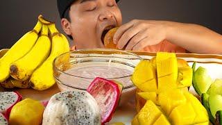 과즙터지는 부드러운 과일 먹방~!! 리얼사운드 ASMR…