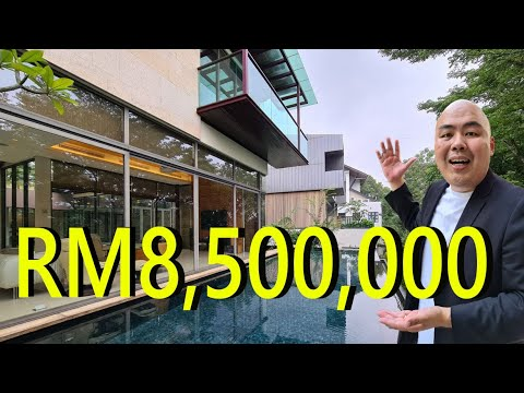 Vlog 2 : Touring a RM8.5 Million Mansion in the Heart of Kuala Lumpur , Country Heights Damansara