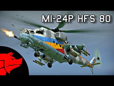 "Mi-24P HFS 80 | ""German Heavy Hitter"" Review & Gameplay  (War Thunder Helicopters)"