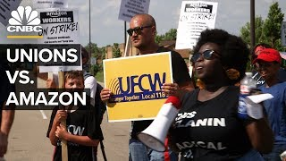 How Amazon Fends Off Unions