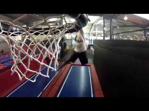 session des toulousains au trampoline park bordeaux youtube. Black Bedroom Furniture Sets. Home Design Ideas